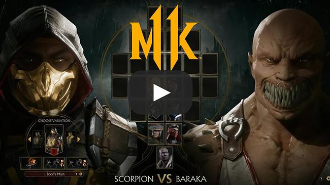 All Games Delta Mortal Kombat 11 Reveal Event Trailers