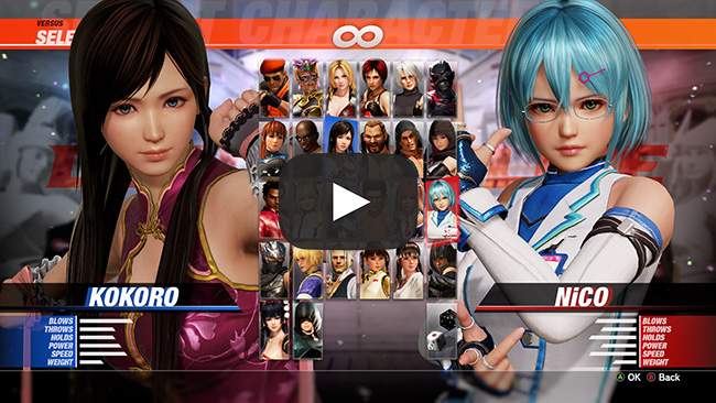 All Games Delta: Dead or Alive 6 PC Version 4K Gameplay and