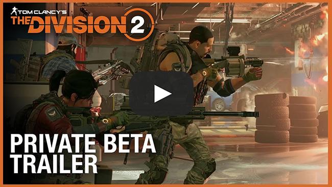 All Games Delta: The Division 2 Private Beta Will Include